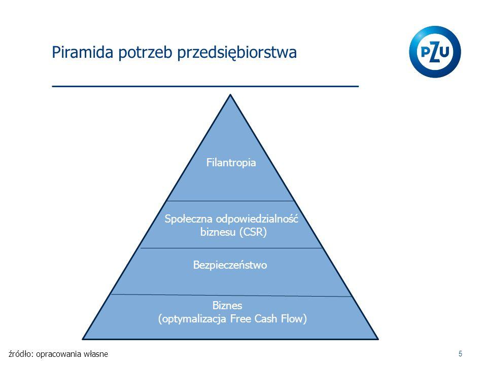 Piramida potrzeb przedsiębiorstwa