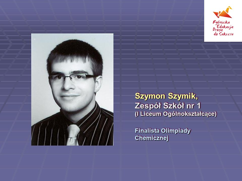 Szymon Szymik, Zespół Szkół nr 1 (I Liceum Ogólnokształcące)