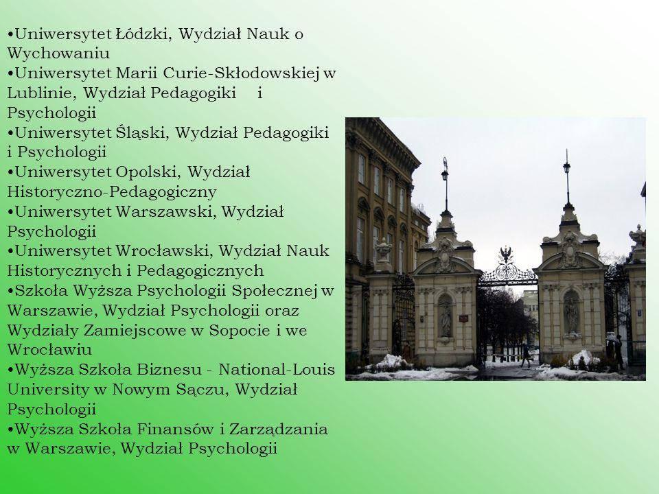 Uniwersytet Łódzki, Wydział Nauk o Wychowaniu