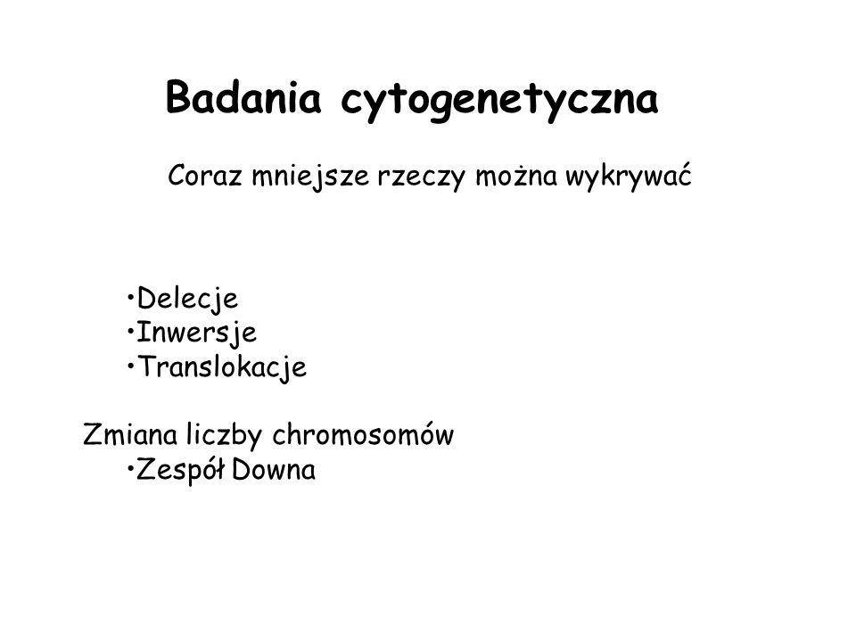 Badania cytogenetyczna
