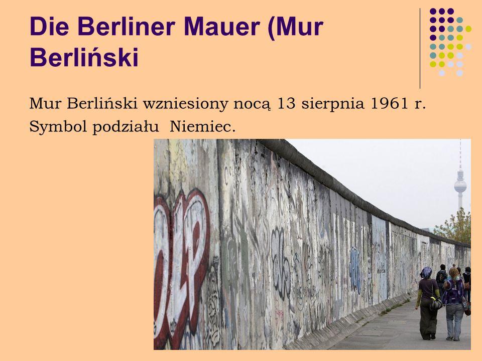 Die Berliner Mauer (Mur Berliński