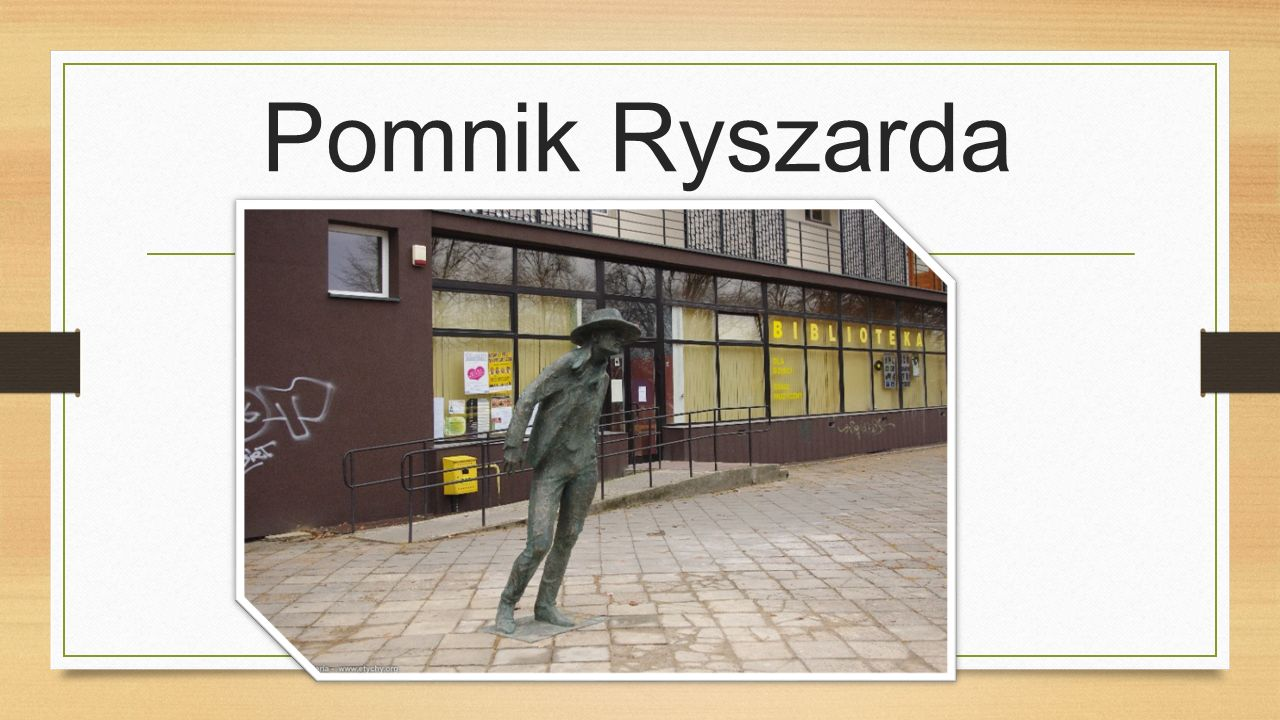 Pomnik Ryszarda