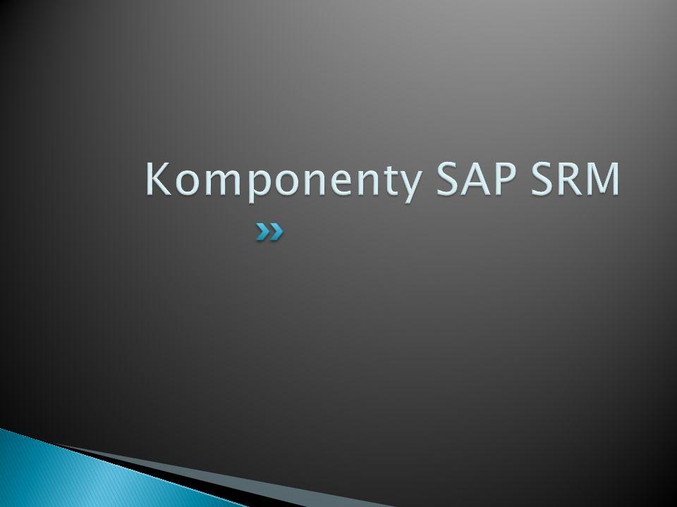 Komponenty SAP SRM