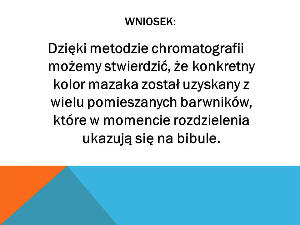 WNIOSEK: