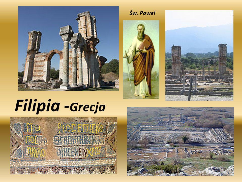 Św. Paweł Filipia -Grecja