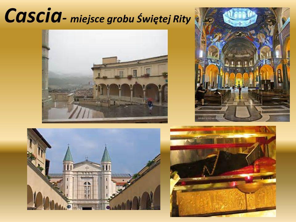 Cascia- miejsce grobu Świętej Rity