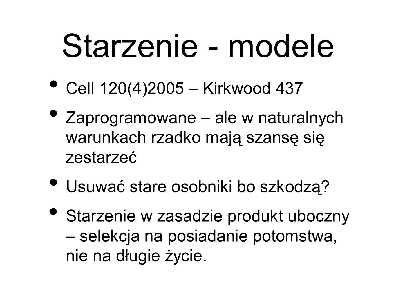 Starzenie - modele Cell 120(4)2005 – Kirkwood 437