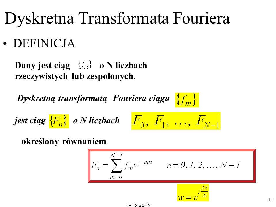 Dyskretna Transformata Fouriera