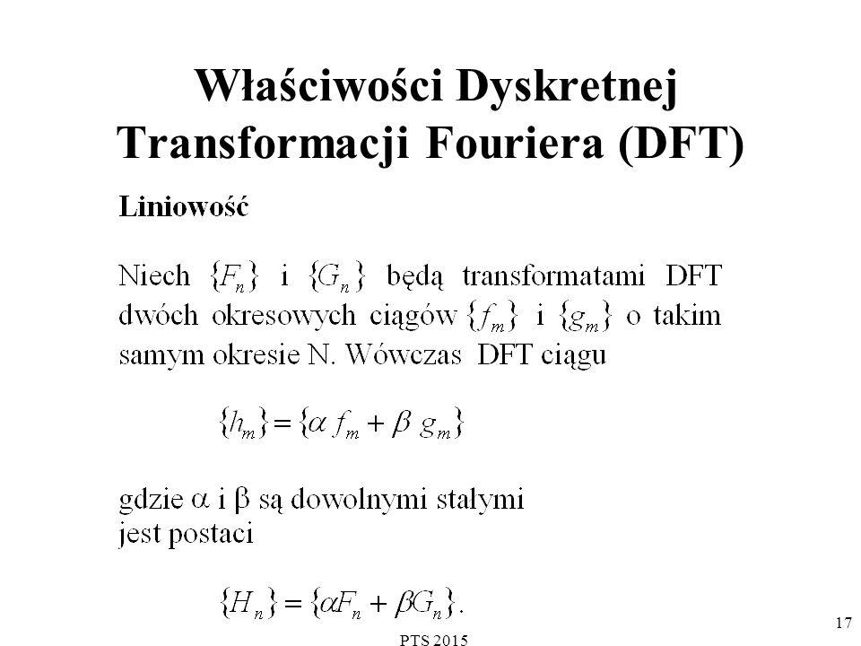 Właściwości Dyskretnej Transformacji Fouriera (DFT)