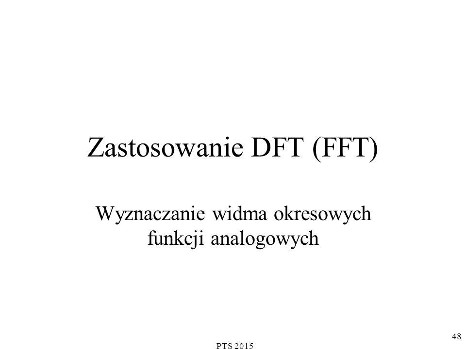 Zastosowanie DFT (FFT)