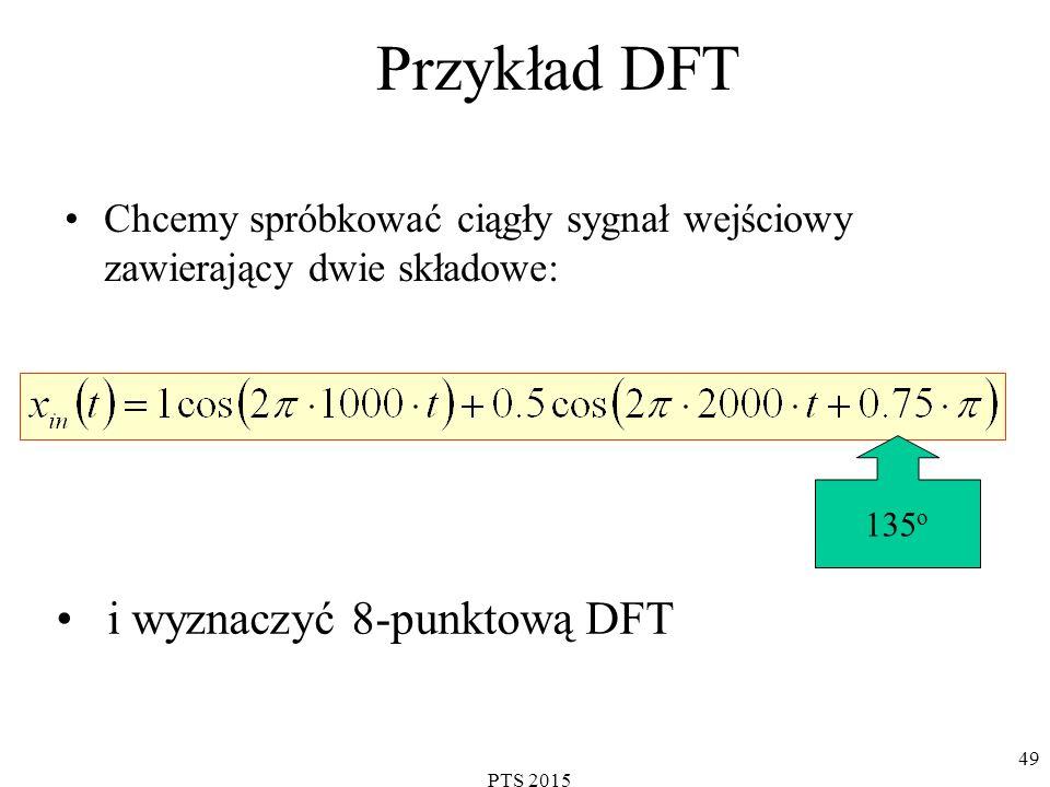Przykład DFT i wyznaczyć 8-punktową DFT
