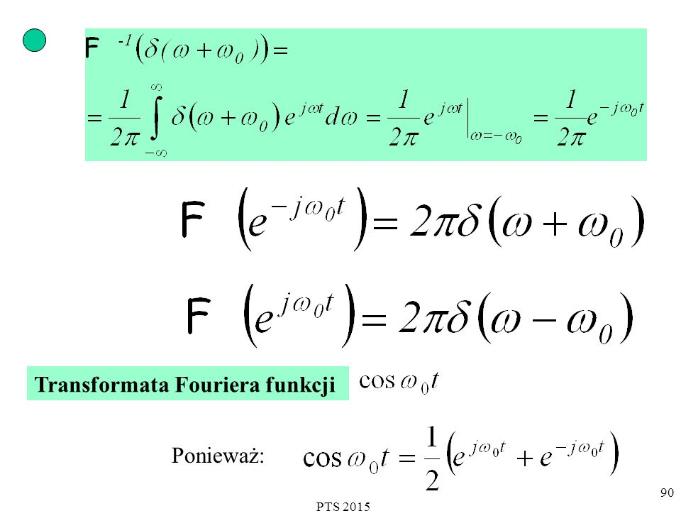 Transformata Fouriera funkcji
