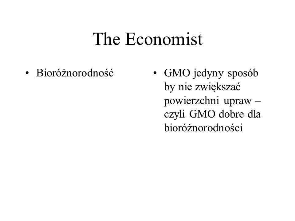 The Economist Bioróżnorodność