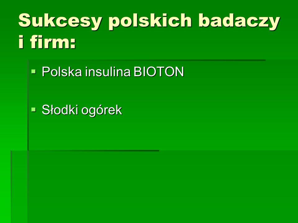 Sukcesy polskich badaczy i firm:
