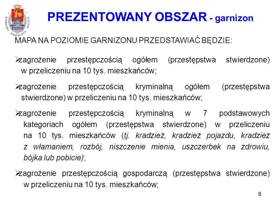 PREZENTOWANY OBSZAR - garnizon