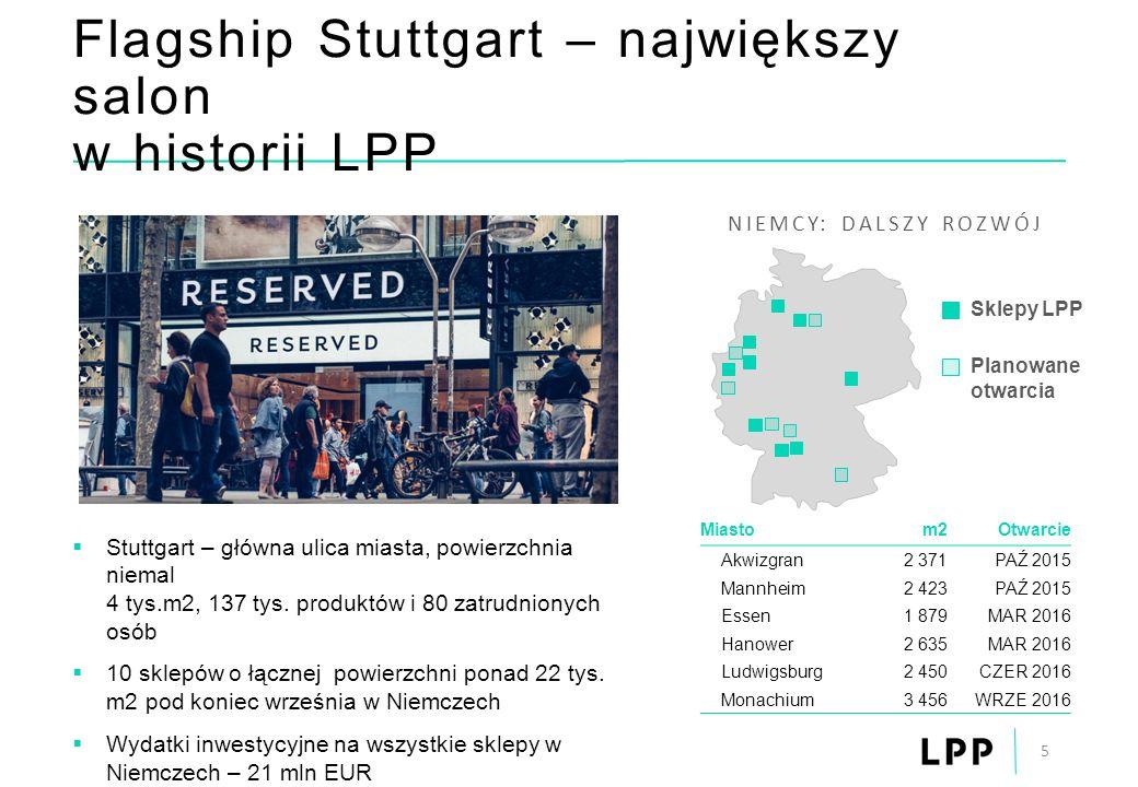 Flagship Stuttgart – największy salon w historii LPP