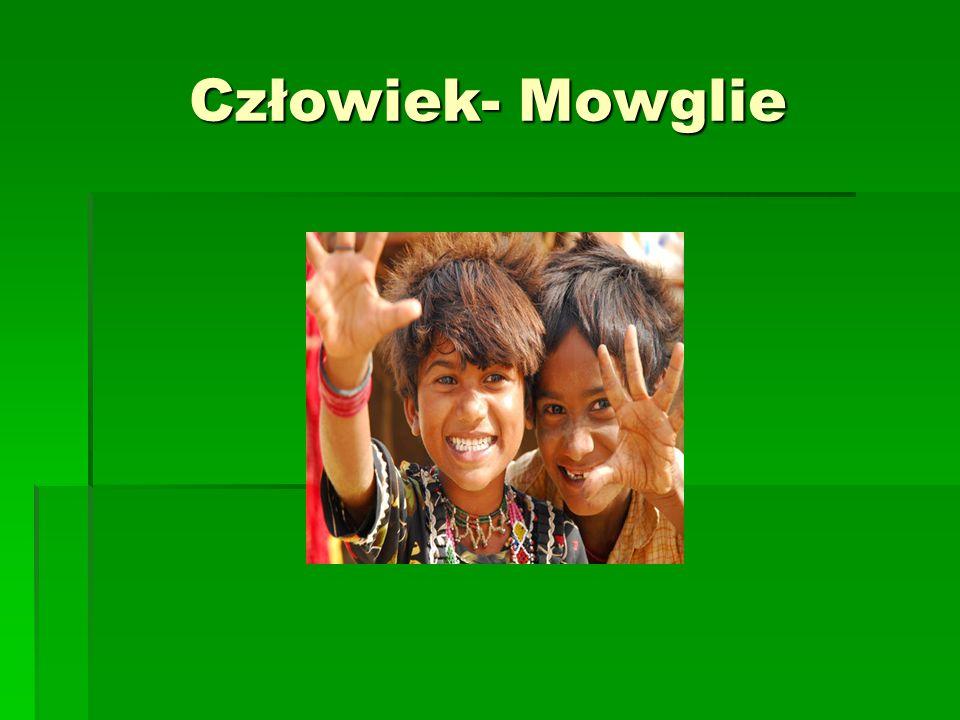 Człowiek- Mowglie