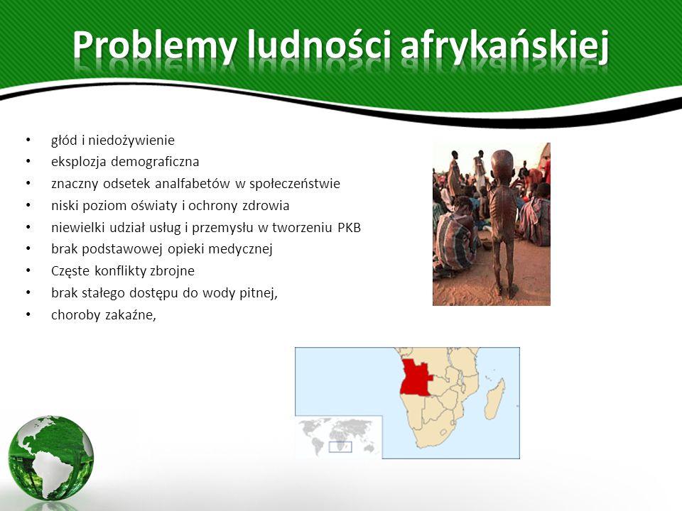Problemy ludności afrykańskiej