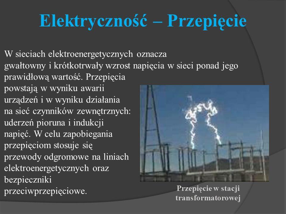 Elektryczność – Przepięcie
