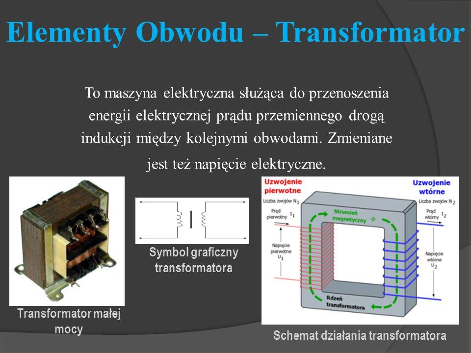 Elementy Obwodu – Transformator