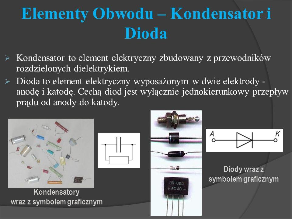 Elementy Obwodu – Kondensator i Dioda