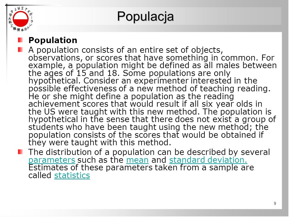 Populacja Population.