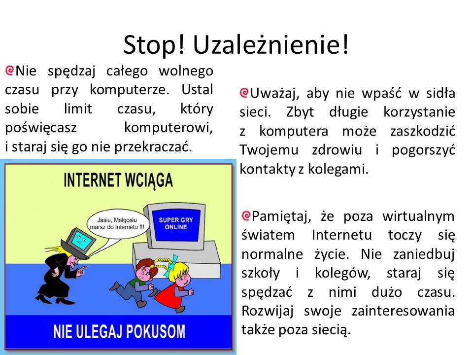 Stop! Uzależnienie!