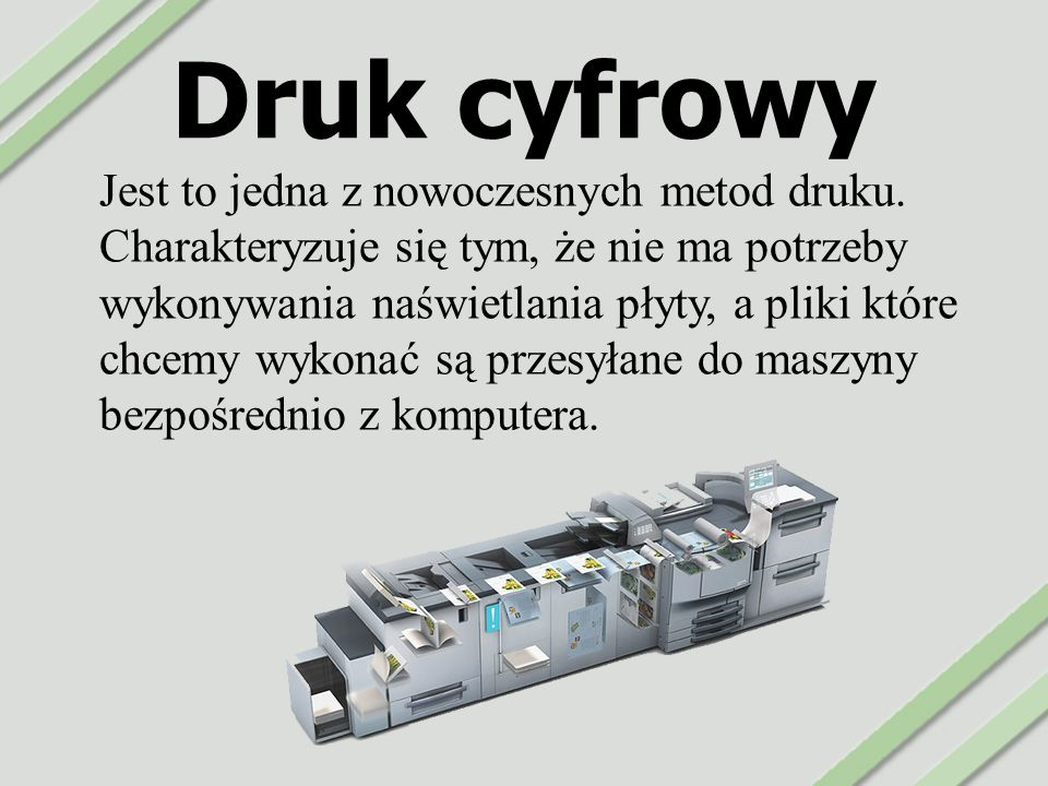 Druk cyfrowy