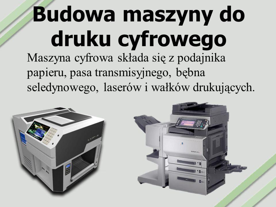 Budowa maszyny do druku cyfrowego