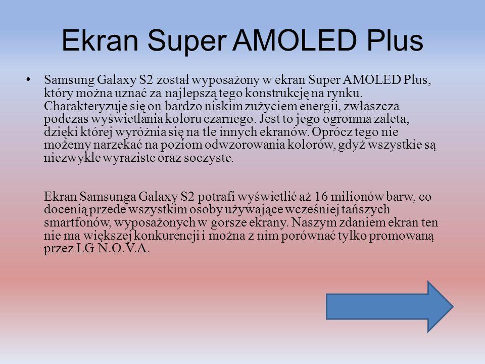 Ekran Super AMOLED Plus