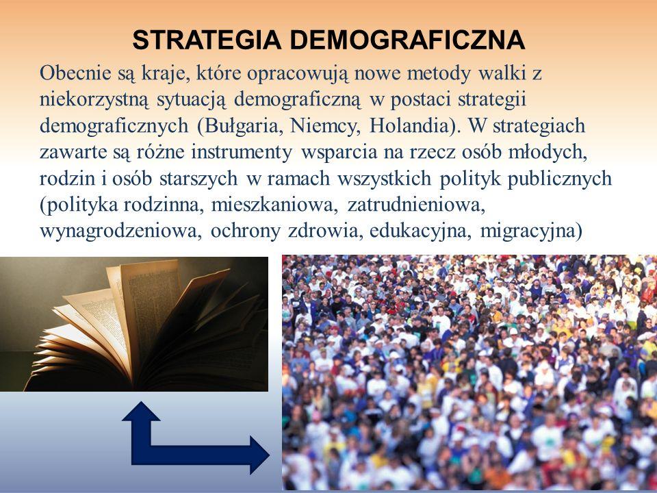 STRATEGIA DEMOGRAFICZNA
