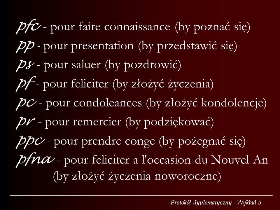 pfc - pour faire connaissance (by poznać się)