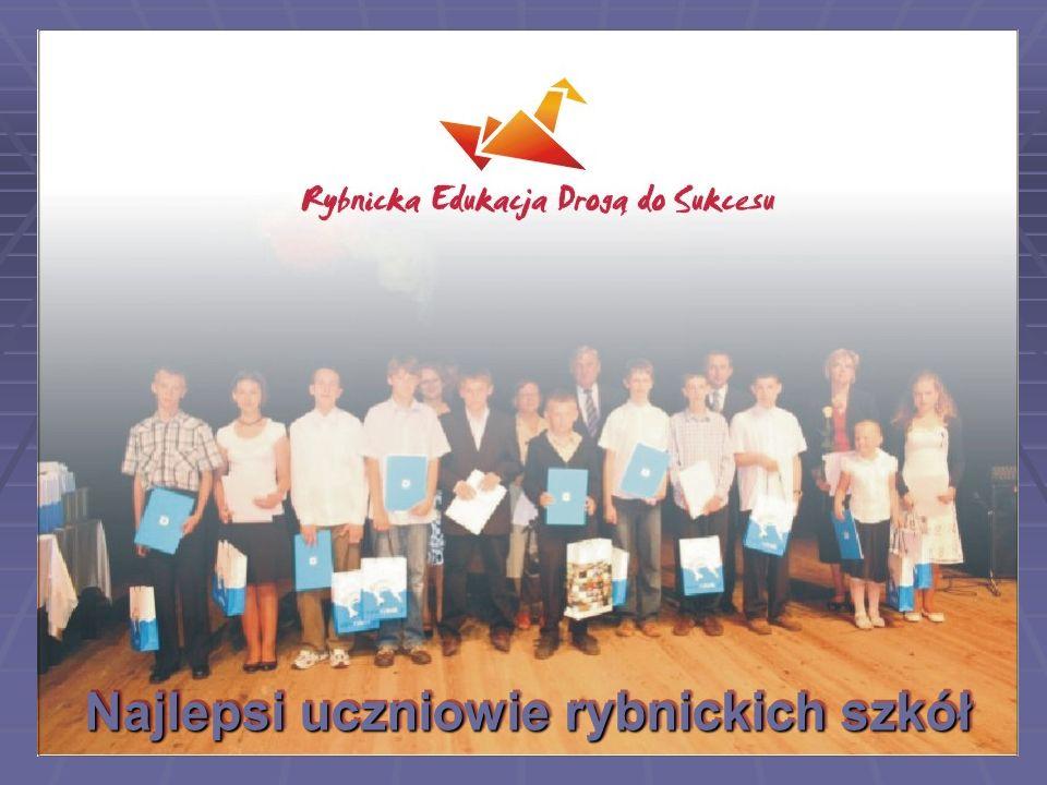 Najlepsi uczniowie rybnickich szkół