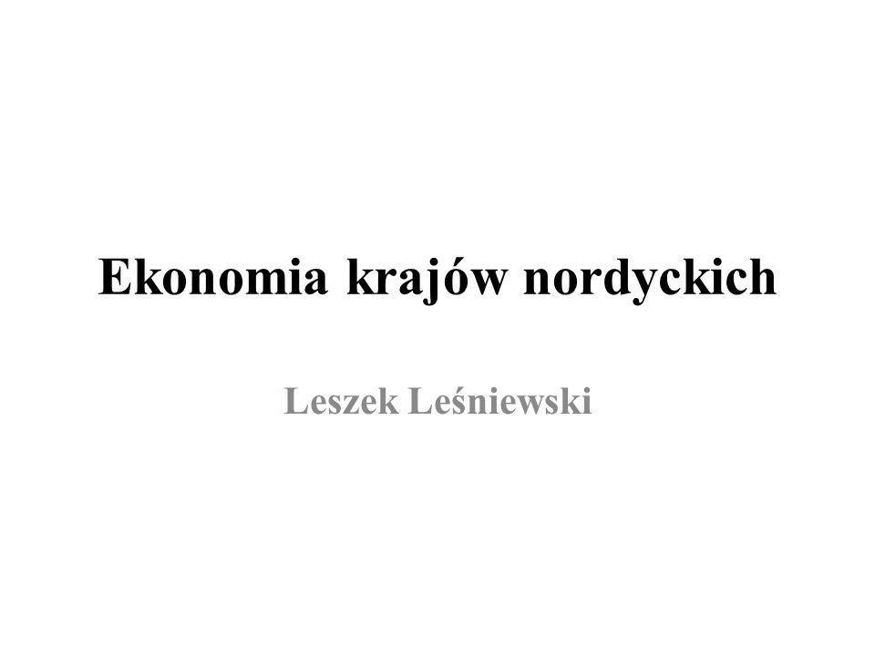 Ekonomia krajów nordyckich