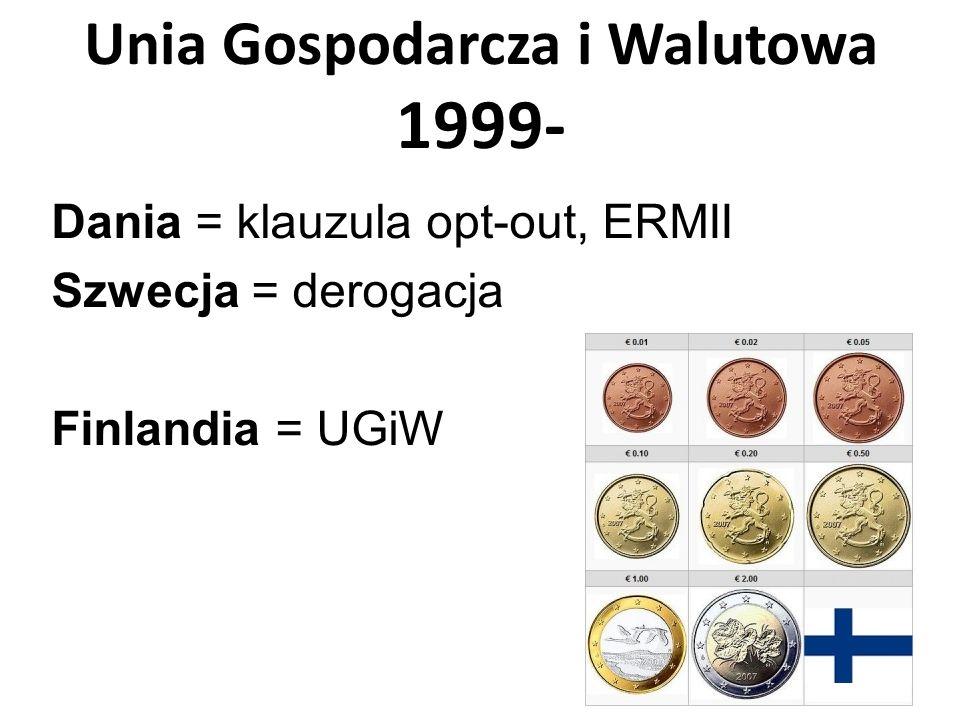 Unia Gospodarcza i Walutowa 1999-