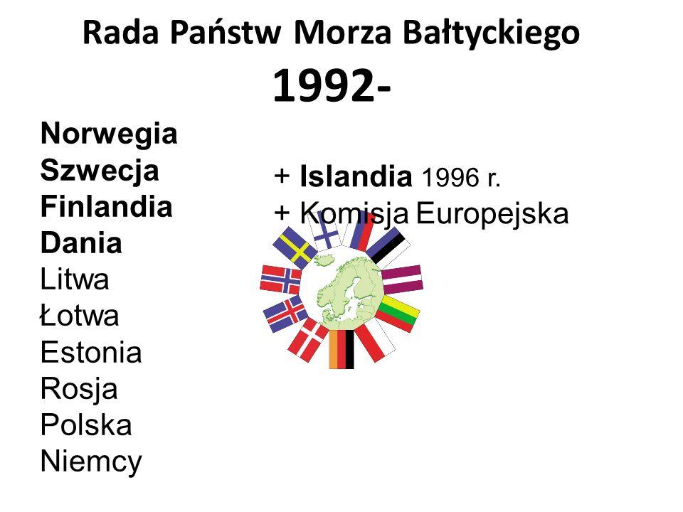 Rada Państw Morza Bałtyckiego 1992-