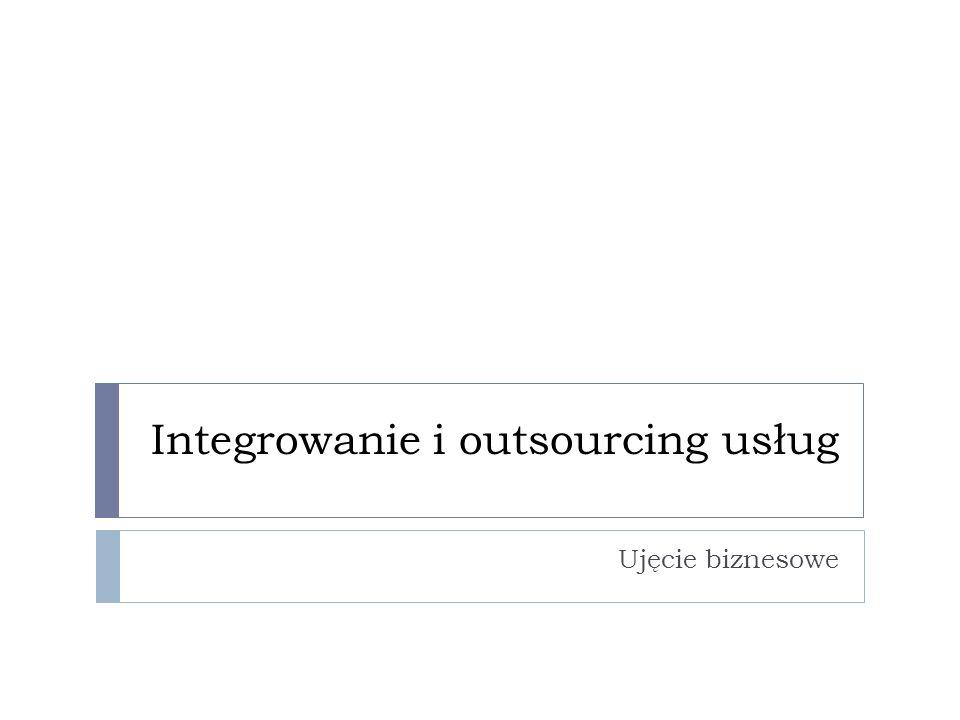 Integrowanie i outsourcing usług