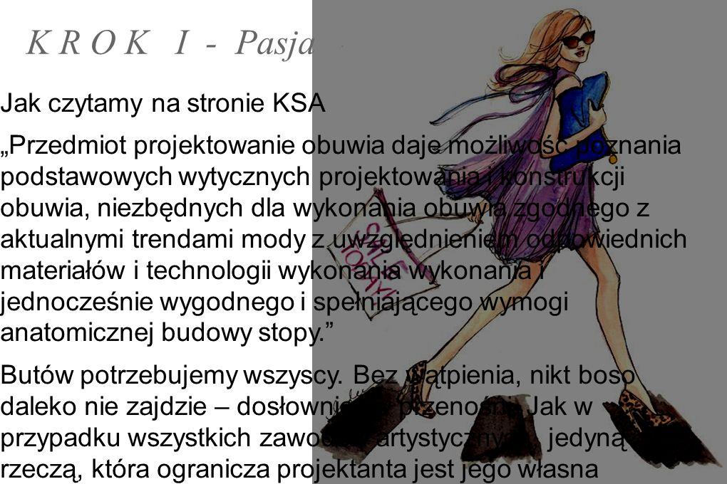 K R O K I - Pasja Jak czytamy na stronie KSA