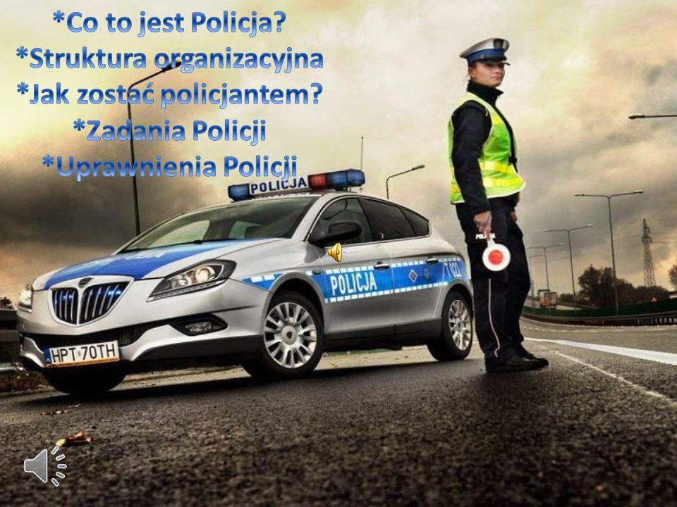 *Struktura organizacyjna *Jak zostać policjantem