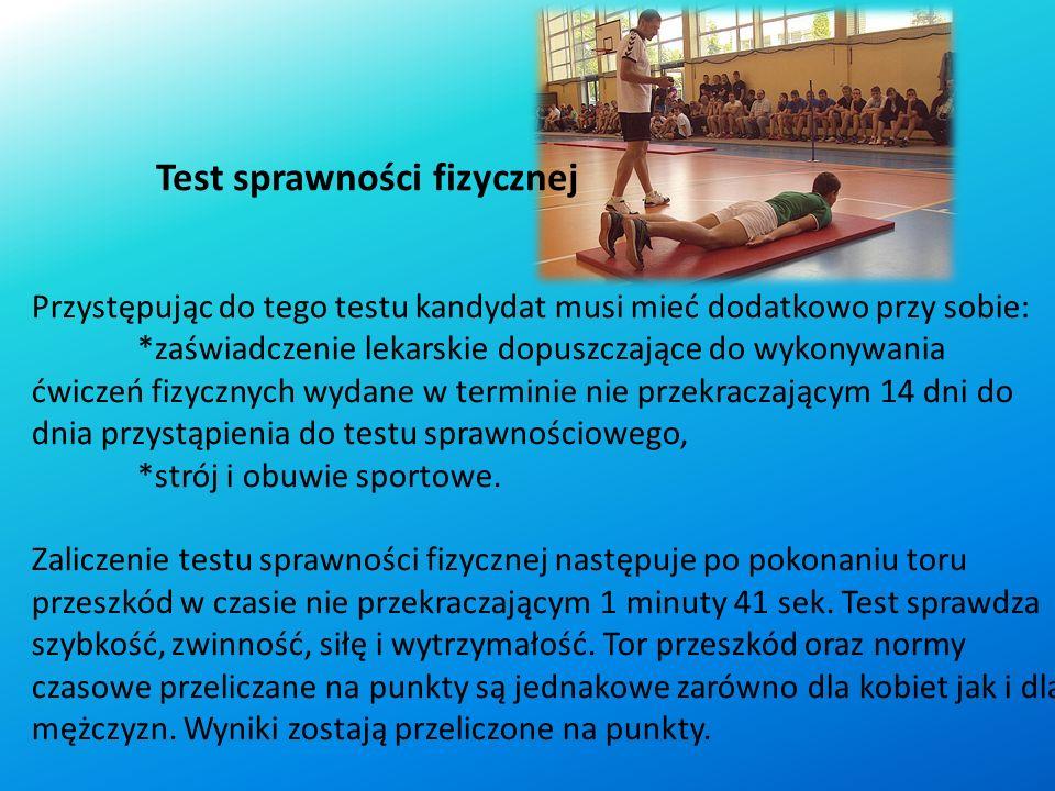 Test sprawności fizycznej