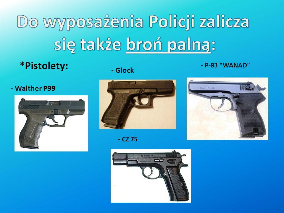 Do wyposażenia Policji zalicza
