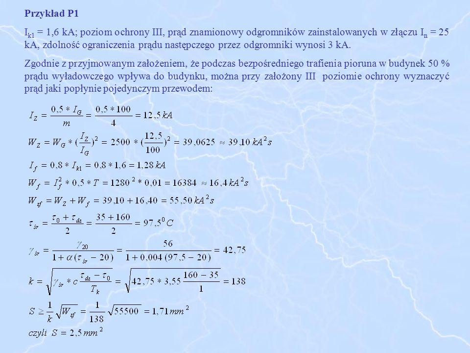 Przykład P1