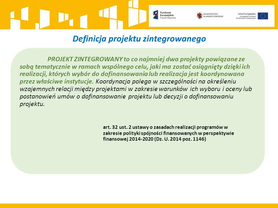 Definicja projektu zintegrowanego