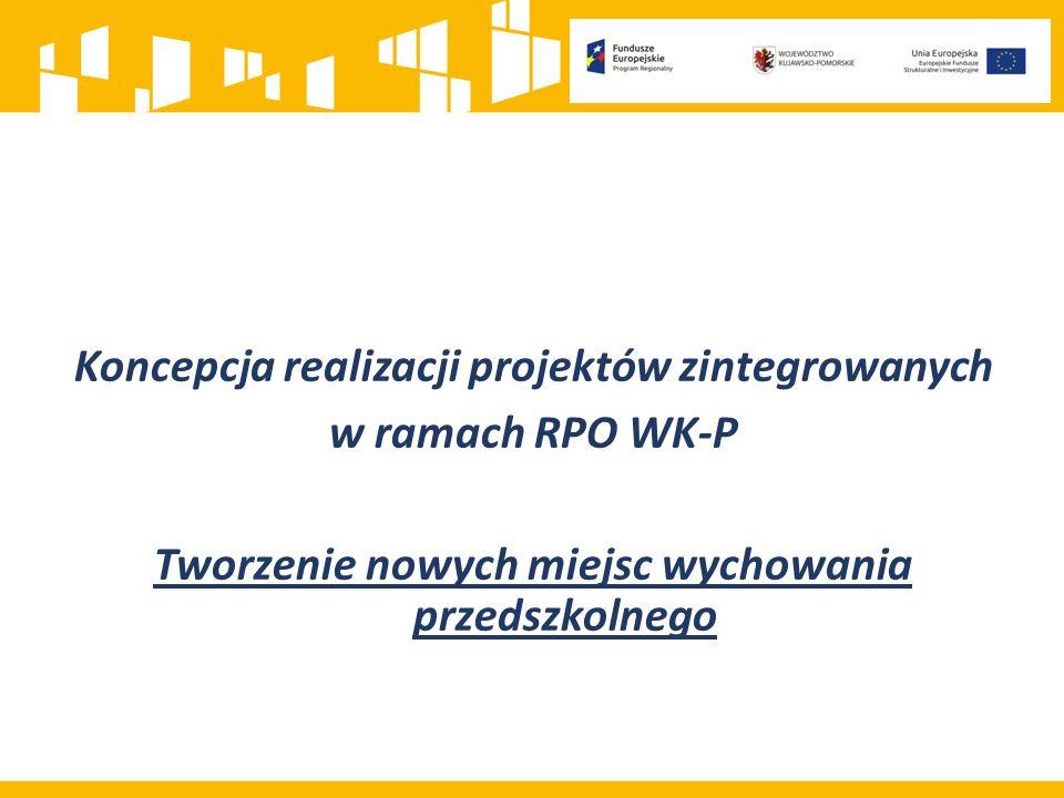 Koncepcja realizacji projektów zintegrowanych w ramach RPO WK-P