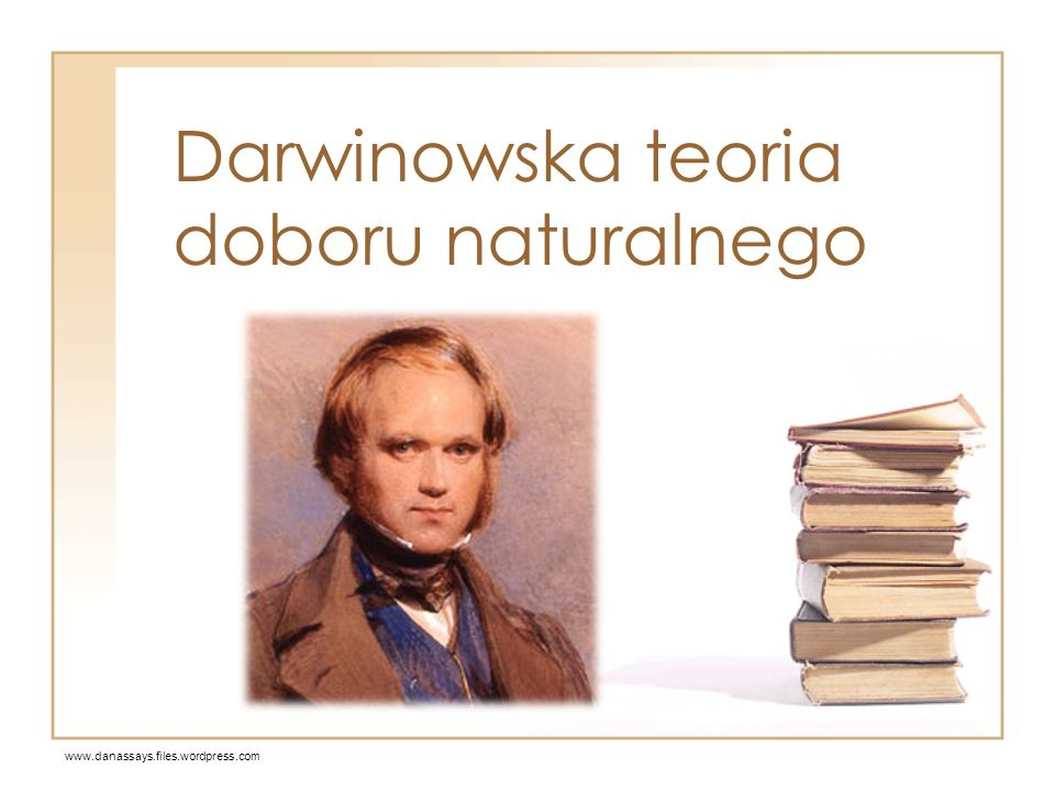 Darwinowska teoria doboru naturalnego
