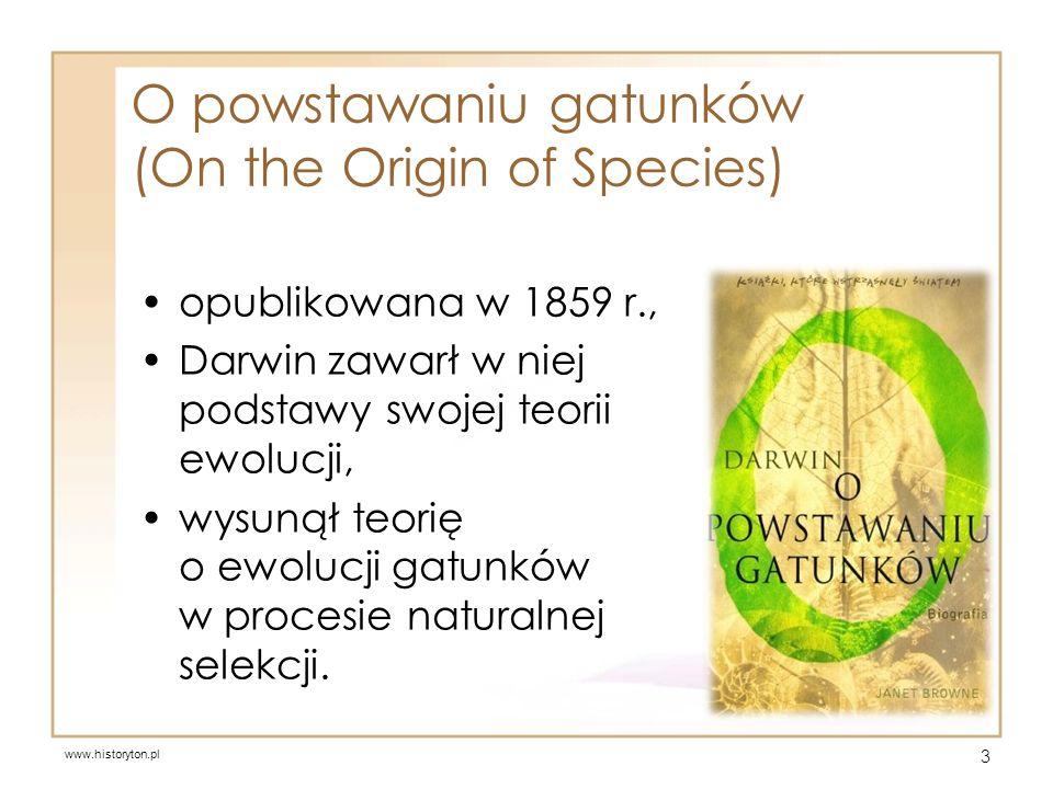 O powstawaniu gatunków (On the Origin of Species)