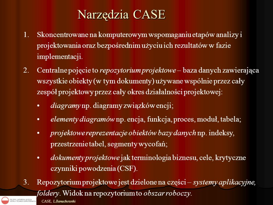 Narzędzia CASE