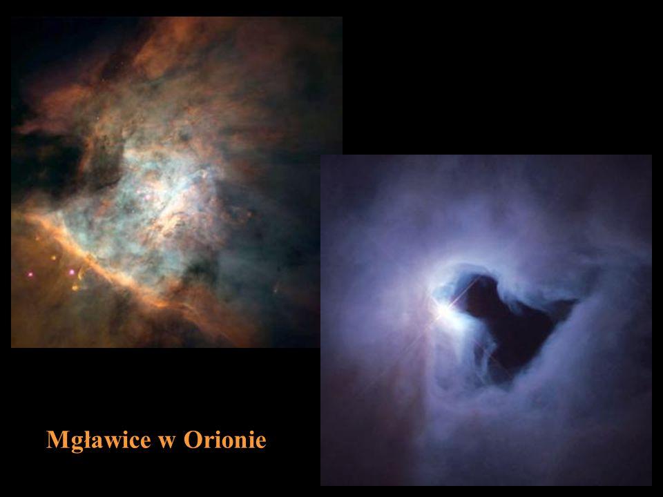 Mgławice w Orionie DZI¢KUJ¢ ZA UWAG¢ CZ¸OWIEK OKO CZUJNIK POMIAROWY