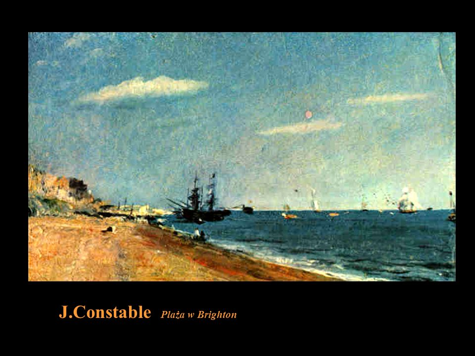 J.Constable Plaża w Brighton