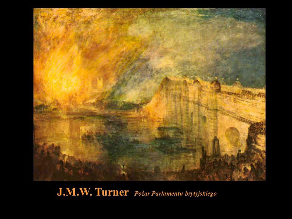 J.M.W. Turner Pożar Parlamentu brytyjskiego